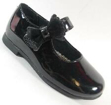 NEW Girls Toddler RACHEL SHOES LIL PRISCILA 2 Black Flats Dress Shoes SZ 8
