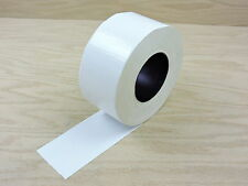 "3"" White Colored Duct Tape Colors Waterproof UV Tear Resistant 60 yd 180'"