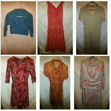 VTG 50'S-60'S CASUAL DAY DRESSES Lot of 6