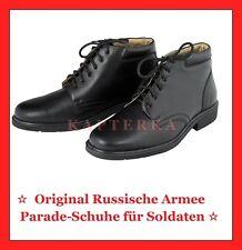 ORIGINAL RUSSISCHE ARMEE PARADE-/AUSGEH UNIFORM SCHUHE CHROMLEDER_Gr.40 bis 45!