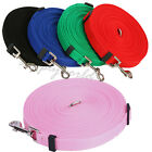 6/15/20/30/50/100 FT Long Dog Leash Pet Puppy Rope Training Lead Chain Stretch