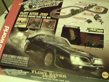 Smokey and the Bandit Auto world Flint river jump slot car set with extras!
