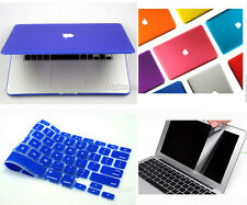 """3in1 For Apple MacBook 2013 Air 13"""" MD761CH/A  Matt Laptop Hard Case Cover Shell"""