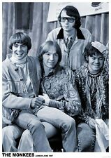 The Monkees London 1967   Poster A1 Size 84.1cm x 59.4cm - 33 inch x 24 inch