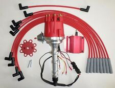 BIG BLOCK CHEVY 348 409 PRO SERIES Small HEI Distributor,Coil, Spark Plug Wires