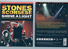 THE ROLLING STONES Shine A Light 2008 Edición Especial 2x DVD Scorsese