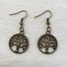 Women Beautiful bronze Tree of Life earrings, Handmade earrings !