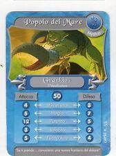 figurina - CARD GORMITI - MYSTICA GRANKIOS