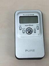 Pure Silver PocketDAB 1000 Pocket DAB radio