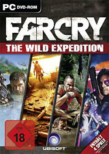 PC Computer Spiel * Far Cry Wild Expeditions 1+2+3 + alle Addons **NEU*NEW*18*55