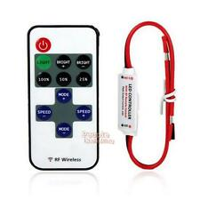 12V RF Wireless Remote Switch Controller Dimmer for Mini LED Strip Light Lamp