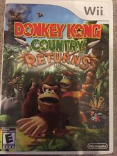 Donkey Kong Country Returns (Nintendo Wii, 2010) Missing Manual