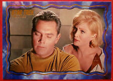 "STAR TREK TOS 50th Anniversary - ""THE CAGE"" - GOLD FOIL Chase Card #55"