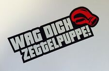 Zettelpuppe Shocker Autoaufkleber Tuning Sticker Decal Turbo illest Aufkleber
