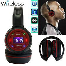 Stereo Bluetooth Wireless Headset Headphones With Call Mic Support SD/TF FM MP3
