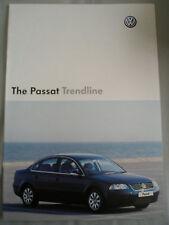 VW Passat línea de tendencia FOLLETO Julio 2004