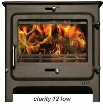 Ekol Clarity 12 KW Multi-fuel Stove Defra Approved