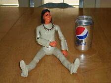 "GERONIMO, LOUIS MARX TOYS,12""TALL, 1960's US OLD WEST INDIAN CHIEF ACTION FIGURE"