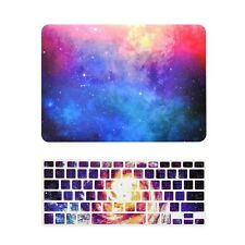 "Pink Galaxy Graphic Matte Case + Keyboard Cover for MacBook Pro 13"" Model: A1278"