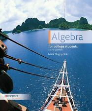 Algebra for College Students by Mark Dugopolski (2011, Hardcover)
