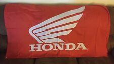 NEW HONDA RED WING RACING FLAG 3'X5' MOTORCYCLE MOTOCROSS