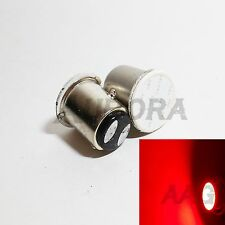 1157 BAY15d Red COB 12 Chip High Power LED #Du1 2x Bulb Tail Stop Brake Light