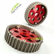 New Adjustable Suzuki Swift GTI G13B Cam Gears & suzuki swift cam pulley red