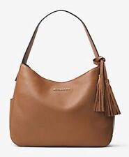 NEW Authentic Michael Kors Ashbury Large Leather Slouchy Shoulder Bag Hobo $228