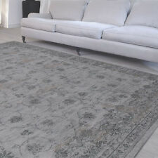 LOUIS DE POORTERE RUG VINTAGE COLLECTION FEDRA 8099 L GREY 140X200CM FLATWEAVE