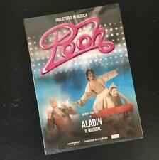 """POOH """"ALADIN - IL MUSICAL"""" RARO DVD FUORI CATALOGO - SIGILLATO"""