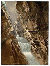 Ragatz Gorge Of The Tamina St Gall A4 Photo Print