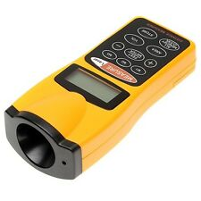 Ultrasonic Laser Beam Pointer Digital LCD Tape Measure Range Distance Meter Tool