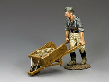 WH027 Engineer with Wheel Barrow by King & Country