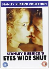 EYES WIDE SHUT DVD Tom Cruise Nicole Kidman Stanley Kubrick Brand New Sealed UK