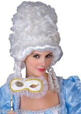 Marie Antoinette Wig Masquerade Ball Fancy Dress Cinderella White Victorian Film