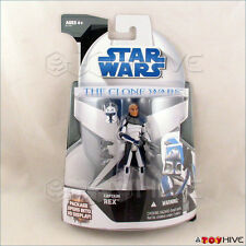 Star Wars Clone Wars 2008 Captain Rex Mail Away Exclusive 3D Display sealed
