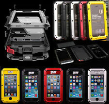 STEALTH METAL WATERPROOF DIRTPROOF SHOCK PROOF LIFE HARD CASE FOR IPHONE 5 & 5S