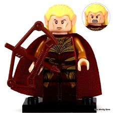 Custom Haldir of Lorien LOTR Minifigure fits with Lego pg509 UK Seller Hobbit