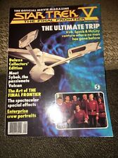 Star Trek V The Final Frontier Official Movie Magazine Shatner Nimoy Kelley