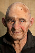 "Silicone Mask Old Man ""Robert Bold"" Halloween, NEW Hand Made, High Quality,"