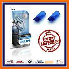 2X Philips Blue Vision Ultra W5W Xenon Look Side light Parking bulbs T10 BMW