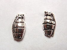 Grenades Stud Earrings 925 Sterling Silver Corona Sun Jewelry