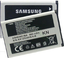 New OEM Samsung AB463651BA Battery For Sunburst A697 M330 Rant M540 A637 R451c
