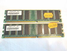 1GB (2x512MB) Legacy 88S5HDL0-1NDG DDR1/333 PC2700 + Arbeitsspeicher Memory RAM