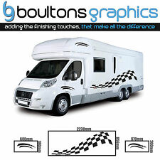 MOTORHOME Stripes - Camper Van Horsebox Caravan Decals Vinyl Sticker Graphic CB1
