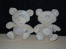 TWO NEXT Beige Brown Teddy Bear Comforters Soft Hug Toys ( 2 )