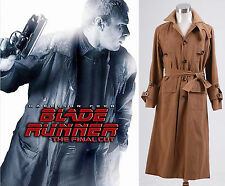Blade Runner Rick Deckard Trench Coat Costume *Tailored*