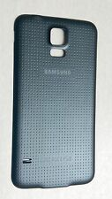 OEM Samsung Galaxy S5 i9600 G900T Battery Door Back Cover - Charcoal Black