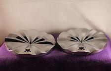 """FERRETTI POLO Chrome Wheel Center Caps TWO (2) NEW!  pn: T820-17"""".18"""""""