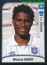 013 MOUSSA NARRY GHANA AJ AUXERRE ES SAHEL STICKER FOOT 2010 PANINI